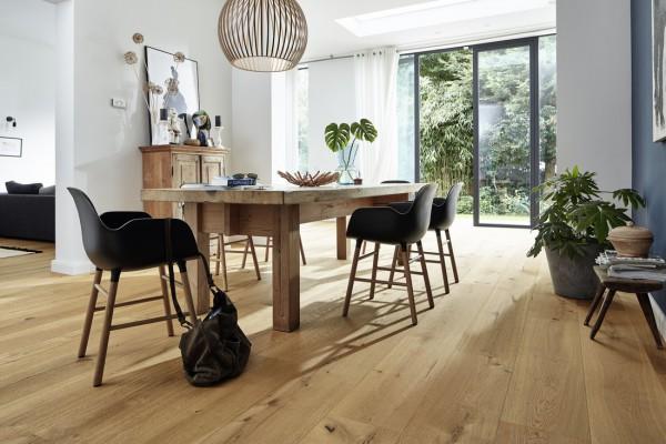 Meister LINDURA Holzboden 8746 Eiche authentic Landhausdiele 27cm Breite